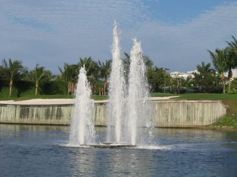 Key West Floating Fountain