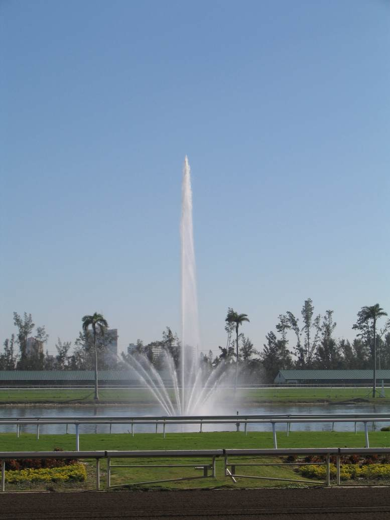 Custom 50 HP Lake Fountain