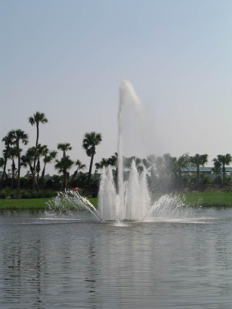 Custom 25 HP Lake Fountain