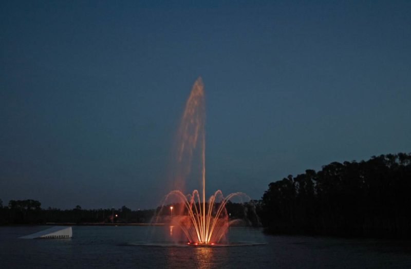 Custom Lake Musical Fountain