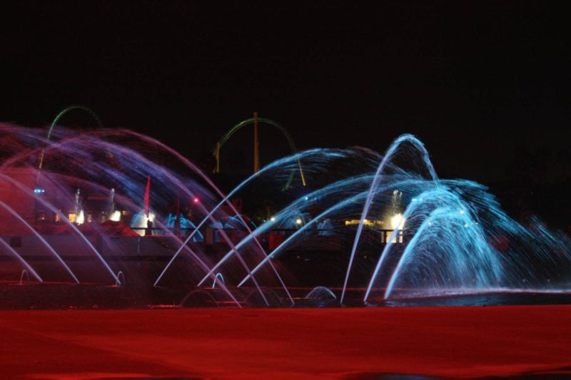 Theme Park Show Fountain