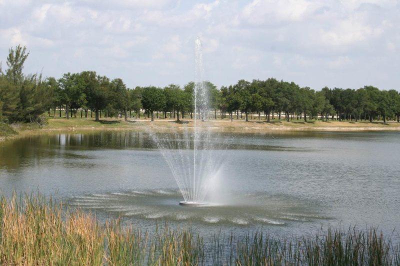 5 HP Malibu Floating Fountain